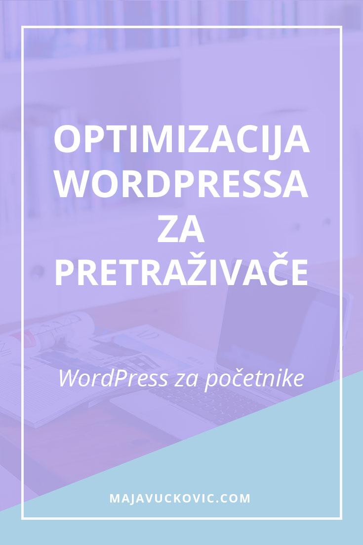 Optimizacija WordPressa za pretraživače