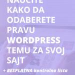 WordPress teme: kako odabrati najbolju