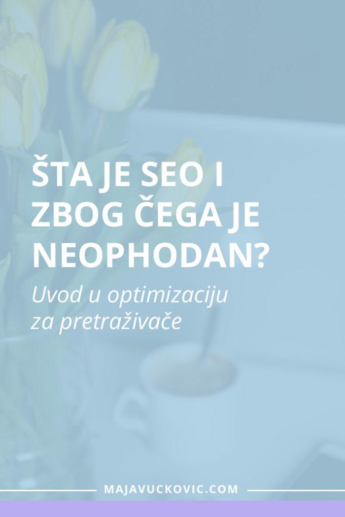 Uvod u optimizaciju sajta i njegovog sadržaja za pretraživače.
