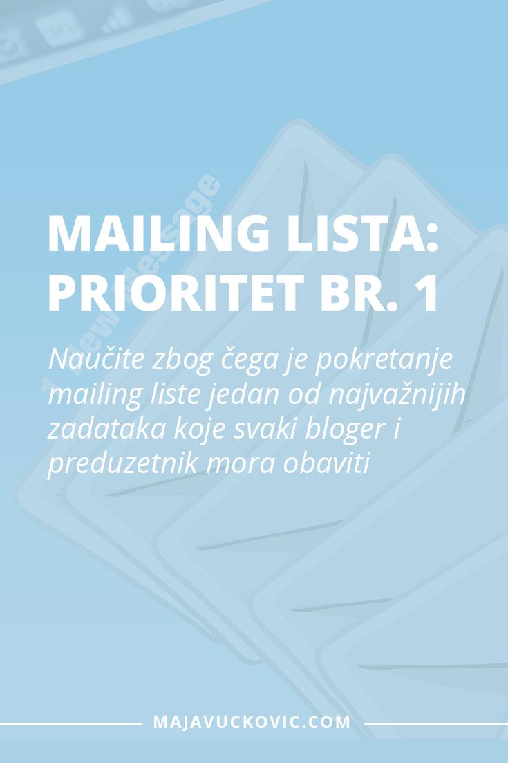 Mailing lista