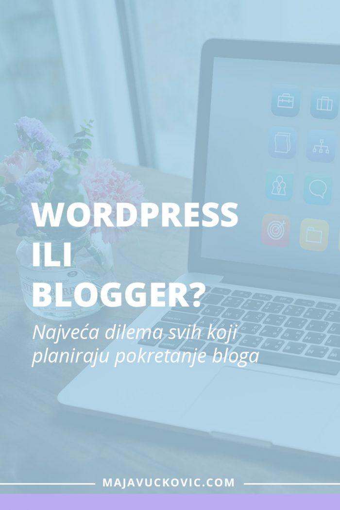 WordPress ili Blogger?