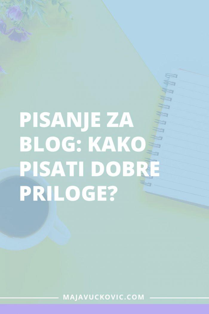 pisanje za blog