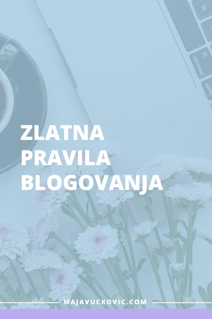 pravila blogovanja