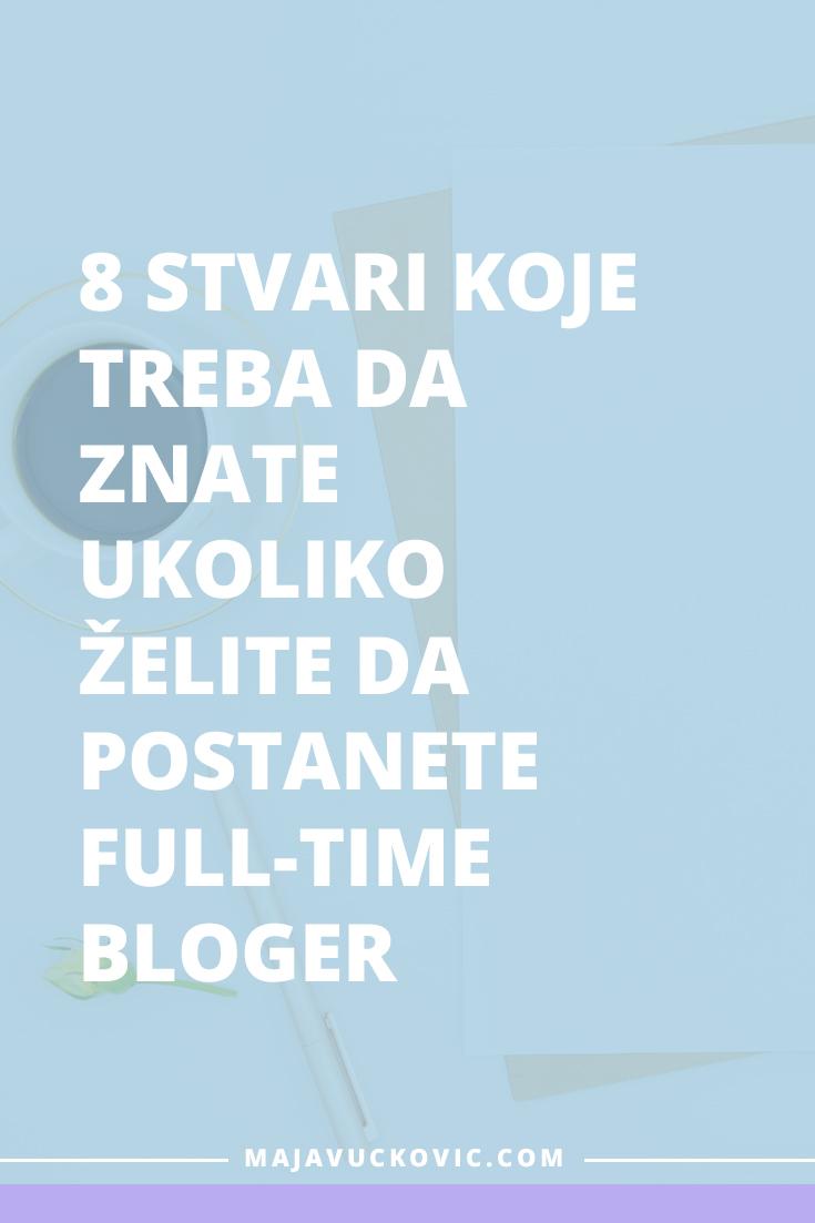 full-time bloger